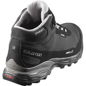 Salomon M's Shelter Spikes CS WP Shoes Black/Black/Pewter